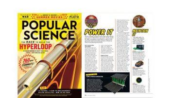 WORX Landroid in Popular Science Magazine