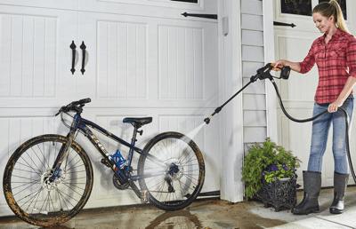 Hydroshot Cleaning Bike