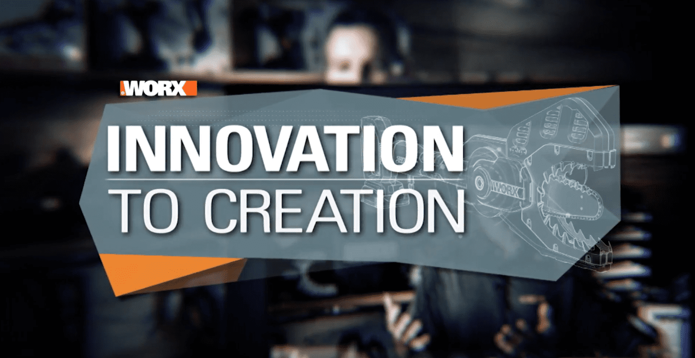 Innovation to Creation WORX JawSaw