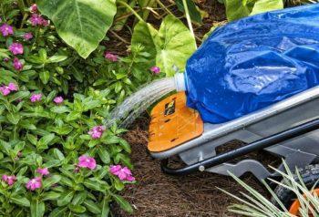 WORX Aerocart Water Bag Watering Flowers