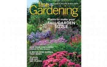 Fine Gardening October 2018 Cover