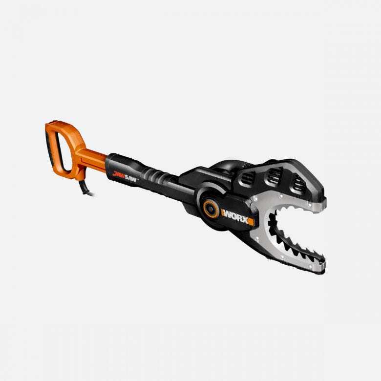 WORX WG308 6-Inch 5 Amp Electric JawSaw with Extension Handle