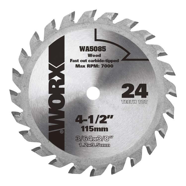 4 12 worxsaw circular saw blade wa5085 worx greentooth Choice Image