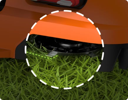 The Landroid doesn't collect grass clippings. Fine clippings are left behind, serving as nutrition for your yard.