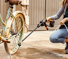 WORX Portable Power Cleaner Hydroshot Category