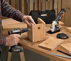 WORX Power Tools Combo Kits